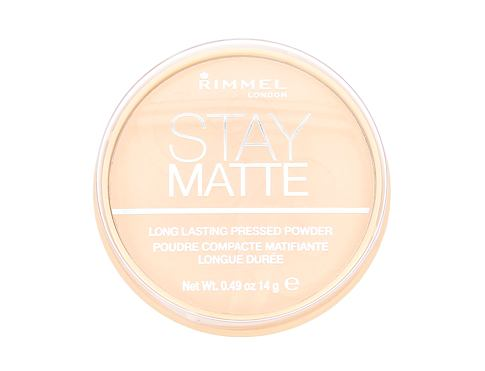 Puder Rimmel London Stay Matte 14 g 001 Transparent