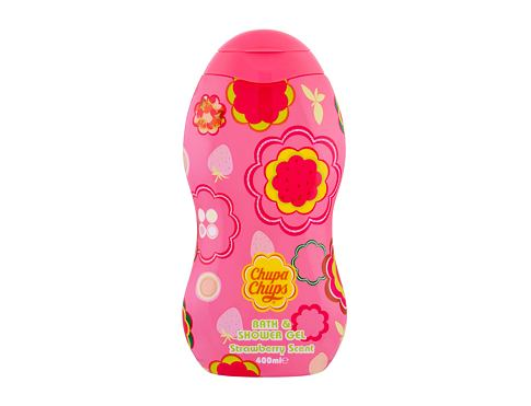 Gel za tuširanje Chupa Chups Strawberry Scent 400 ml
