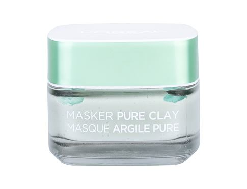 Maska za lice L´Oréal Paris Pure Clay Purity Mask 50 ml oštećena kutija