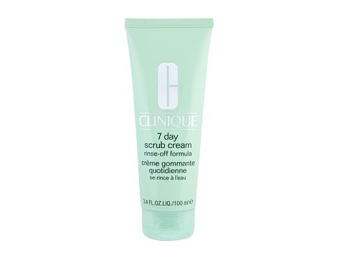 Piling Clinique 7 Day Scrub Cream 100 ml oštećena bočica