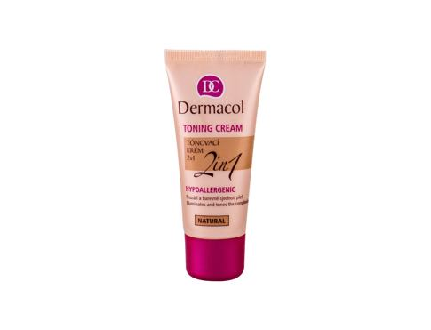 BB krema Dermacol Toning Cream 2in1 30 ml Natural