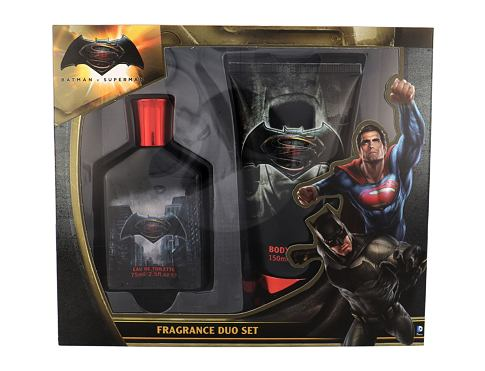 Toaletna voda DC Comics Batman v Superman 75 ml Poklon setovi
