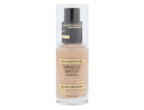 Tekući puder Max Factor Miracle Match 30 ml 50 Natural