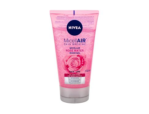 Gel za čišćenje lica Nivea MicellAIR Rose Water 150 ml