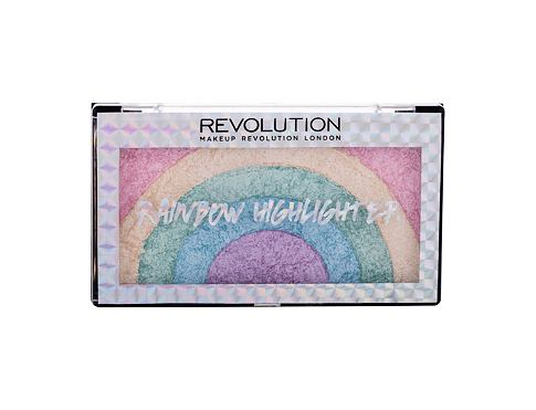Highlighter Makeup Revolution London Rainbow Highlighter 10 g