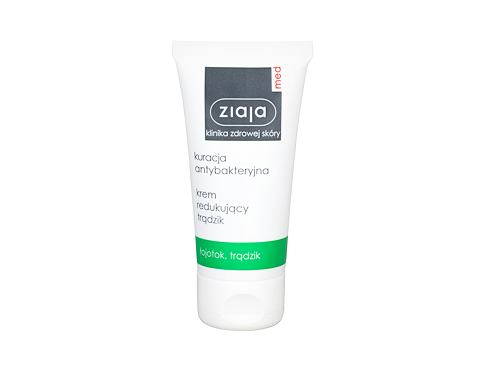 Dnevna krema za lice Ziaja Med Antibacterial Treatment Anti-Acne Cream 50 ml