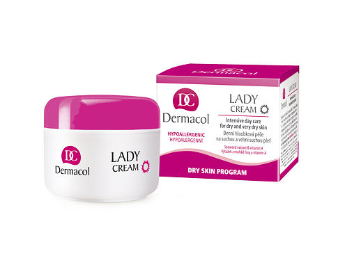 Dnevna krema za lice Dermacol Lady Cream 50 ml