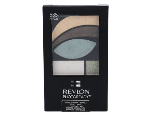 Sjenilo za oči Revlon Photoready Primer, Shadow & Sparkle 2,8 g 535 Pop Art