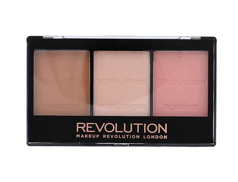 Rumenilo Makeup Revolution London Ultra Sculpt & Contour Kit 11 g C01 Ultra Fair