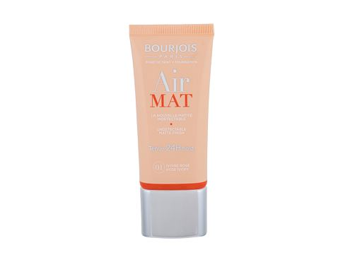 Tekući puder BOURJOIS Paris Air Mat SPF10 30 ml 01 Rose Ivory