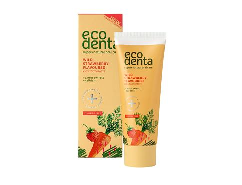 Zubna pasta Ecodenta Toothpaste Wild Strawberry Flavoured 75 ml
